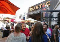 With an oversized patio and a stage for live music, The Rustic is the largest of FreeRange Concepts' restaurants.(Louis DeLuca - Staff Photographer)