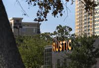 The Rustic in Uptown for most of 2014 has had the highest level of alcohol sales for a Texas restaurant that's not part of a larger facility such as a hotel or sports venue.( Louis DeLuca  -  Staff Photographer )