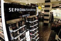 About 600 Penney stores will have Sephora shops, like this one at the Penney store in Frisco's Stonebriar Centre Mall, after Penney adds 60 more this year. (2014 File Photo/Vernon Bryant)