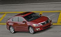 The 2013 Nissan Altima gets excellent fuel economy.