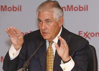 Exxon CEO Rex Tillerson.( David Woo  -  Staff Photographer )