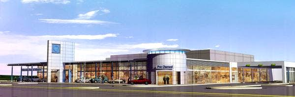 Park place plans to open a mercedes benz dealership in for Park place mercedes benz