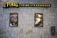 Exterior of III Forks Steakhouse and Seafood in Terminal D.