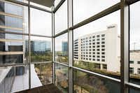 The Hilton Hotel seen among office buildings at the Granite Park office park on the southwest corner of SH 121 and the Dallas North Tollway, Wednesday, March 30, 2016, in Dallas. (Smiley N. Pool/The Dallas Morning News)(Smiley N. Pool - Staff Photographer)