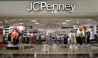 The entrance to J.C. Penney store at the Town East Mall in Mesquite, Texas. Shot on Monday, October 5, 2015. (David Woo/The Dallas Morning News)