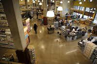 Employees work to set up the new Whole Foods Market Wednesday, August 5, 2015 in Uptown Dallas. The 44,387-square-foot store opens its doors on August 12. (G.J. McCarthy/The Dallas Morning News)