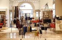 The handbag department at Neiman Marcus in downtown Dallas on April 12, 2016. (Rose Baca/The Dallas Morning News)