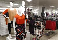 Penney's Town East Mall store in Mesquite was the first to get the Boutique, a new department that offers more plus-size clothing. Penney's will also add plus sizes in juniors.(David Woo - Staff Photographer)