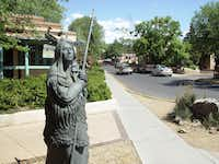 In Santa Fe, a run takes you through downtown and past the art galleries and restaurants of Canyon Road.
