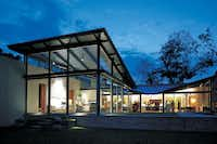 """The AIA award-winning """"Residence for Art,"""" completed for Dallasite Lupe Murchson in 1998"""