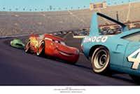 "Lightning McQueen in ""Cars""( File  - Pixar  )"