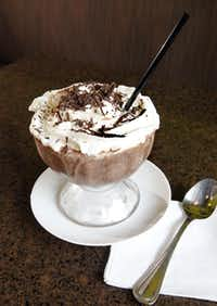 Sublime Chocolate Bar in Allen offers Frozen Hot Chocolate.