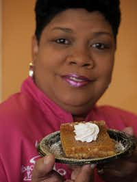 That Sweet Potato Thang at Nikki Jackson's Absolutely Edible Cakes & Catering has become a favorite.