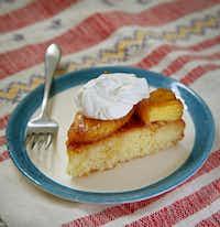 Drunken Coconut and Pineapple Cake(Jae S. Lee/The Dallas Morning News)