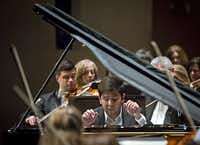 Behzod Abduraimov played the Tchaikovsky First Piano Concerto with passion and astonishing technical command.G.J. McCarthy  -  Staff Photographer