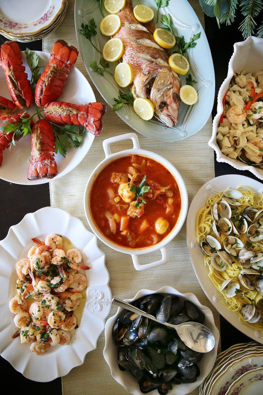 Feast Of The Seven Fishes A Festive Italian Christmas
