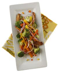 Stir-fry is a good option for an inexpensive and nutritious meal.