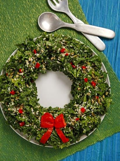 Christmas Kale Salad Wreath Recipes Dallas News