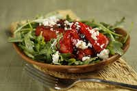 Grilled Watermelon-Arugula Salad