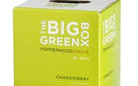 The Big Green Box Chardonnay, NV, California. 3-liter box is equivalent to four bottles. $19.99