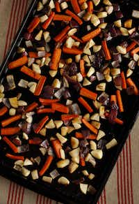 Roasted Vegetables with Sorghum MolassesEvans Caglage - Staff Photographer