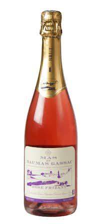 Mas de Daumas Gassac Rosé Frizant 2011, France. $24.99 to $27.99; the Art of Wine on Preston, Molto Formaggio, Pogo's, Vino 100 on McKinney and Domaine Wine Co. on Oak Lawn.