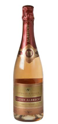 Lucien Albrecht Crémant d'Alsace Rosé, NV, France. $19.79 to $22.99; Pogo's, Spec's, select Central Market stores, Veritas and most Goody Goody stores.(Evans Caglage - Staff Photographer)