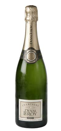 Duval-Leroy Champagne Brut, NV, France. $29.99 to $35.99; Total Wine, Spec's, select Sigel's, Central Market, select S&K Beverage stores, Las Colinas Beverages, Stoney's, Kegs & Barrels on 15th Street in Plano, Richardson Beer & Wine and Bear Creek.