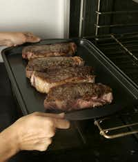 How Do You Cook New York Steak In The Oven