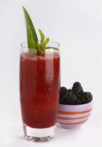 Port of Call features rum and Blackberry Syrup. Accessories available at Dahlgren Duck.
