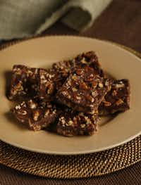 Baked Pecan Toffee.