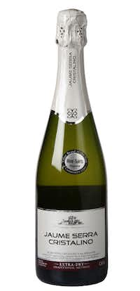 BEST VALUE: Jaume Serra Cristalino Cava Extra Dry, NV, Spain. $5.99 to $6.99; widely available. From the panel: We tasted several excellent sparklers — some that we'd prefer over this one if we sipped them all solo — but this refreshing, budget bubbly worked the best with the fried chicken.