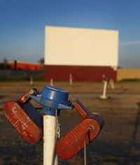 The Galaxy, which started screening films in 2004, is just outside Ennis.Brad Loper - Staff Photographer