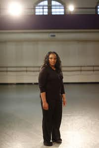 Booker T. Washington High School teacher Bridget L. Moore poses for a portrait at the Dallas Black Dance Theatre on February 15, 2013. Moore was selected as the Princess Grace Choreography Fellow in the Fall of 2012 and was commissioned by the Dallas Black Dance Theatre to create new work for the company.