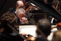 Pianist Anton Nel performed the Beethoven Second Piano Concerto with the Dallas Symphony Orchestra on Thursday, Feb. 21, at the Meyerson Symphony Center in Dallas.(Ben Torres - Special Contributor)