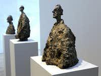 """Alberto Giacometti's """"Diego in a Cloak"""""""