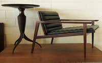 A student of 18th-century skills, Dan Phillips' furniture is strongly influenced by classic Danish modern pieces.