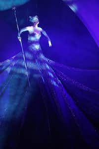 Glinda (Robin Evan Willis) performs in opening night of Dallas Summer Musicals The Wizard of Oz at Music Hall at Fair Park in Dallas, Texas, Wednesday, March 19, 2014.Allison Slomowitz - Special Contributor