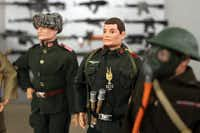 Vintage Hasbro G.I. Joe Soldiers of the World are shown at the Dallas Fort Worth G.I. Joe Collectors Club meeting, held at Frontiers of Flight Museum in Dallas, Texas, Wednesday, November 3, 2012.