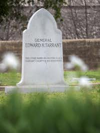 General Edward Tarrant, after whom Tarrant County is named, is buried at Pioneers Rest Cemetery.