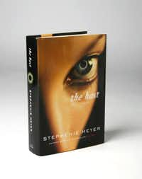 Book jacket of the host by Stephenie Meyer.