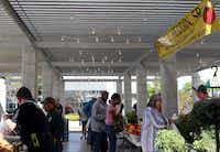 The Grand Prairie Farmers Market features an indoor and outdoor market in Grand Prairie, Texas on Saturday, April 13, 2013.(Allison Slomowitz - Special Contributor)