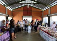 The Grand Prairie Farmers Market is located in Market Square in Grand Prairie, Texas on Saturday, April 13, 2013.(Allison Slomowitz - Special Contributor)