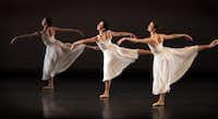 6) American Ballet Theatre, Jan. 20-21, Winspear Opera House. If ballet after Balanchine has hope, it lies in choreographers such as Alexei Ratmansky, whose Seven Sonatas engaged in gorgeous classicism without resorting to gimmicky pantomime and poses. The versatile bill for TITAS also included Merce Cunningham's Duets, a slow-motion examination of ballet language both instructive and funny.(Stewart F. House - Special Contributor)