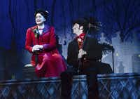 "The touring production of ""Mary Poppins"" is a visual treat leavened with a surprising amount of social commentary."