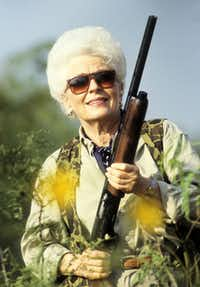"A scene from ""Ann Richards' Texas"" at Dallas Video Fest."