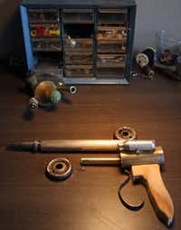 Pugh sells his ray guns on Etsy.