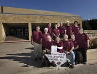 Members of the Plano High School class of 1965 get together at their old school, which is now Williams High School.( Jason Janik  -  Special Contributor )