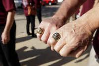 Close-up view of the Plano High School class of 1965 rings.( Jason Janik  -  Special Contributor )