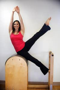 Lauren Anderson, a Pilates instructor at Park Cities Pilates Center in Dallas, says fitness and exercise became a regular part of her daily regimen after beginning an intensive study of ballet at age 12.